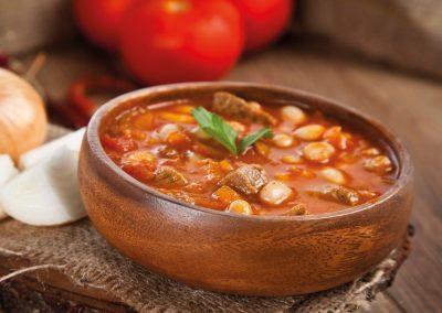 Witte bonen in tomatensaus met vlees | Valle del Sole