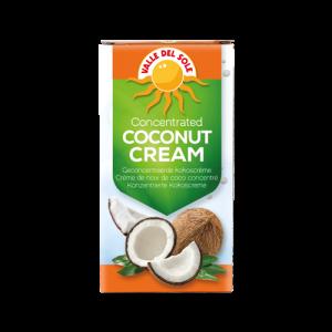 Geconcentreerde kokoscrème