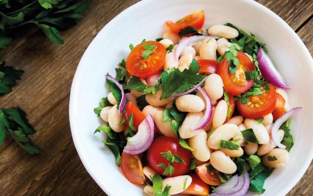 Witte bonen salade