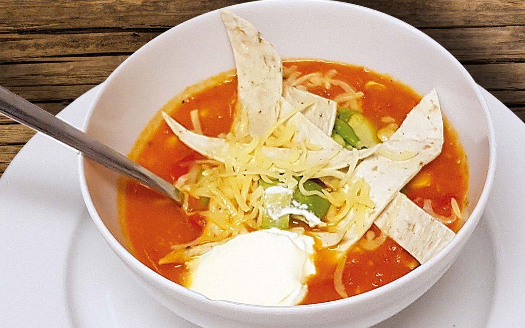 Mexicaanse bonensoep