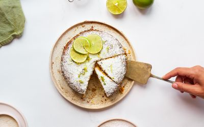 Kokos lime cheesecake