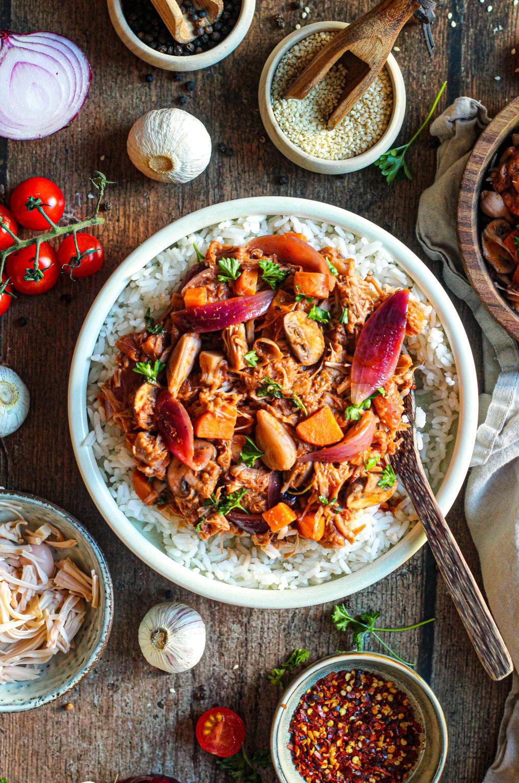 Rode curry met Jackfruit | Valle del Sole