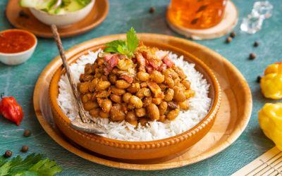 Bruine bonen met rijst (BBR)