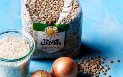 Groene linzen; een verrijking in je keukenkastje