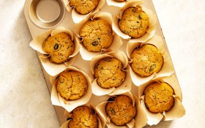 Mexicaanse cornbread muffins